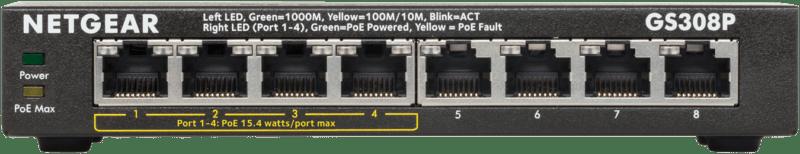 NETGEAR GS308P Switch Unmanaged