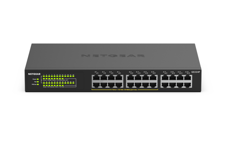 NETGEAR GS324P Switch Unmanaged