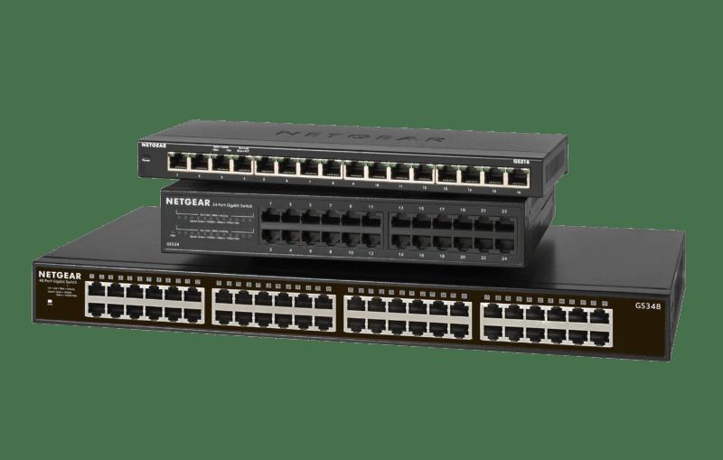 NETGEAR GS348 Switch Unmanaged