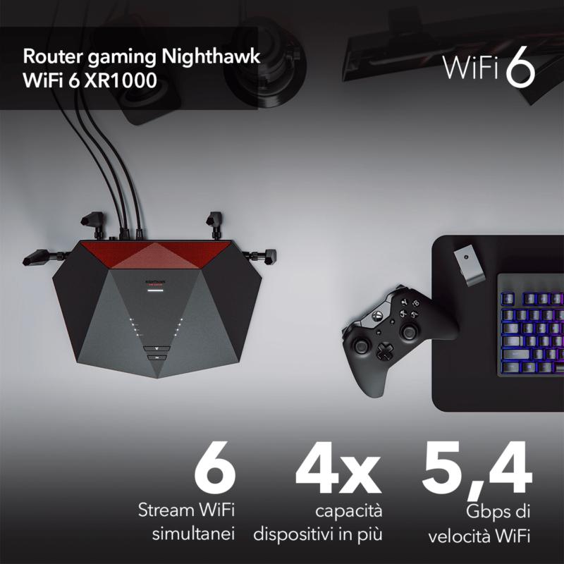 NETGEAR Nighthawk Router WiFi 6 AX5400