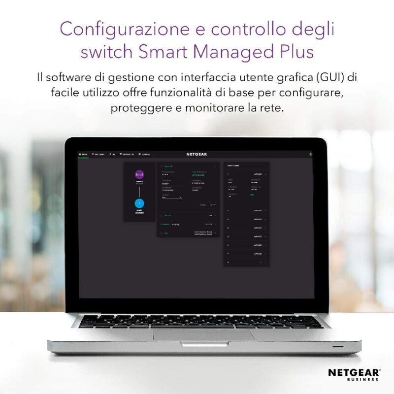 NETGEAR GS316EPP Switch Plus