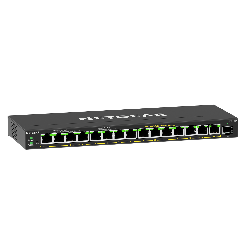 NETGEAR GS316EP Switch Plus