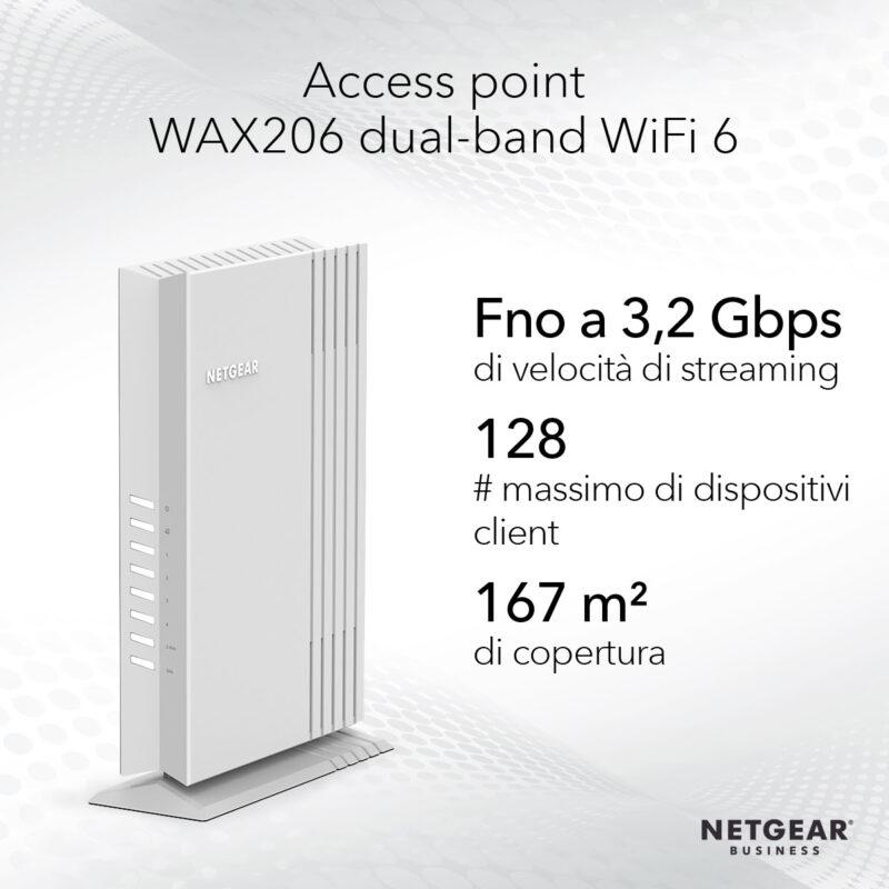 NETGEAR Access Point WiFi 6